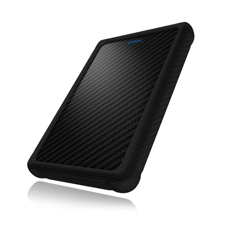 """Raidsonic ICY BOX External enclosure for 2.5"""" SATA HDD/SSD with USB 3.0 interface and silicone protection sleeve 2.5"""""""
