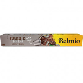 Belmoca Belmio Sleeve Espresso Extra Dark Roast Coffee Capsules for Nespresso coffee machines