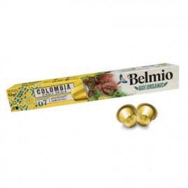 Belmoca Belmio Sleeve BIO/Single Origine Colombia Coffee Capsules for Nespresso coffee machines