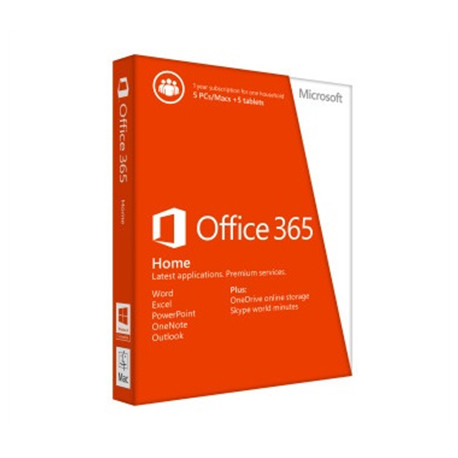 Microsoft 6GQ-00685 Office 365 Home Full packaged product (FPP)
