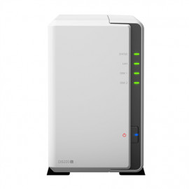 Synology Tower NAS DS220j up to 2 HDD/SSD