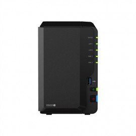 Synology Tower NAS DS220+ up to 2 HDD/SSD Hot-Swap