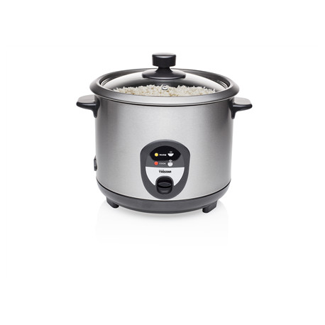 Tristar RK-6127 Rice cooker Black/Stainless steel