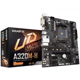 Gigabyte GA-A320M-H 3.0 Processor family AMD
