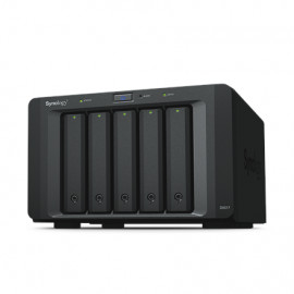 Synology Tower NAS Expansion Unit DX517 up to 5 HDD/SSD Hot-Swap (drives not included)