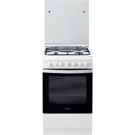 INDESIT Cooker IS5G5PHW/E Hob type Gas