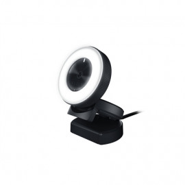 Razer Kiyo - Ring Light Equipped Broadcasting Camera Connection type: USB2.0. Fast & Accurate Autofocus for seamlessly sharp ...
