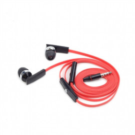 Gembird Porto earphones with microphone and volume control with flat cable 3.5 mm