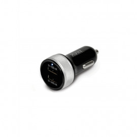 Port Connect Car Charger 2 USB - 2.4A+1A